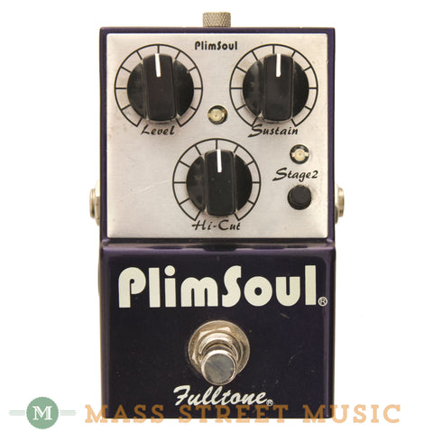 Fulltone Plimsoul Overdrive Pedal Used - front