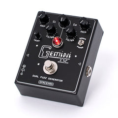 Spaceman Effects - Gemini IV Dual Fuzz Generator Black