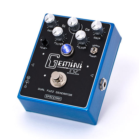Spaceman Effects - Gemini IV Dual Fuzz Generator Blue Starlight