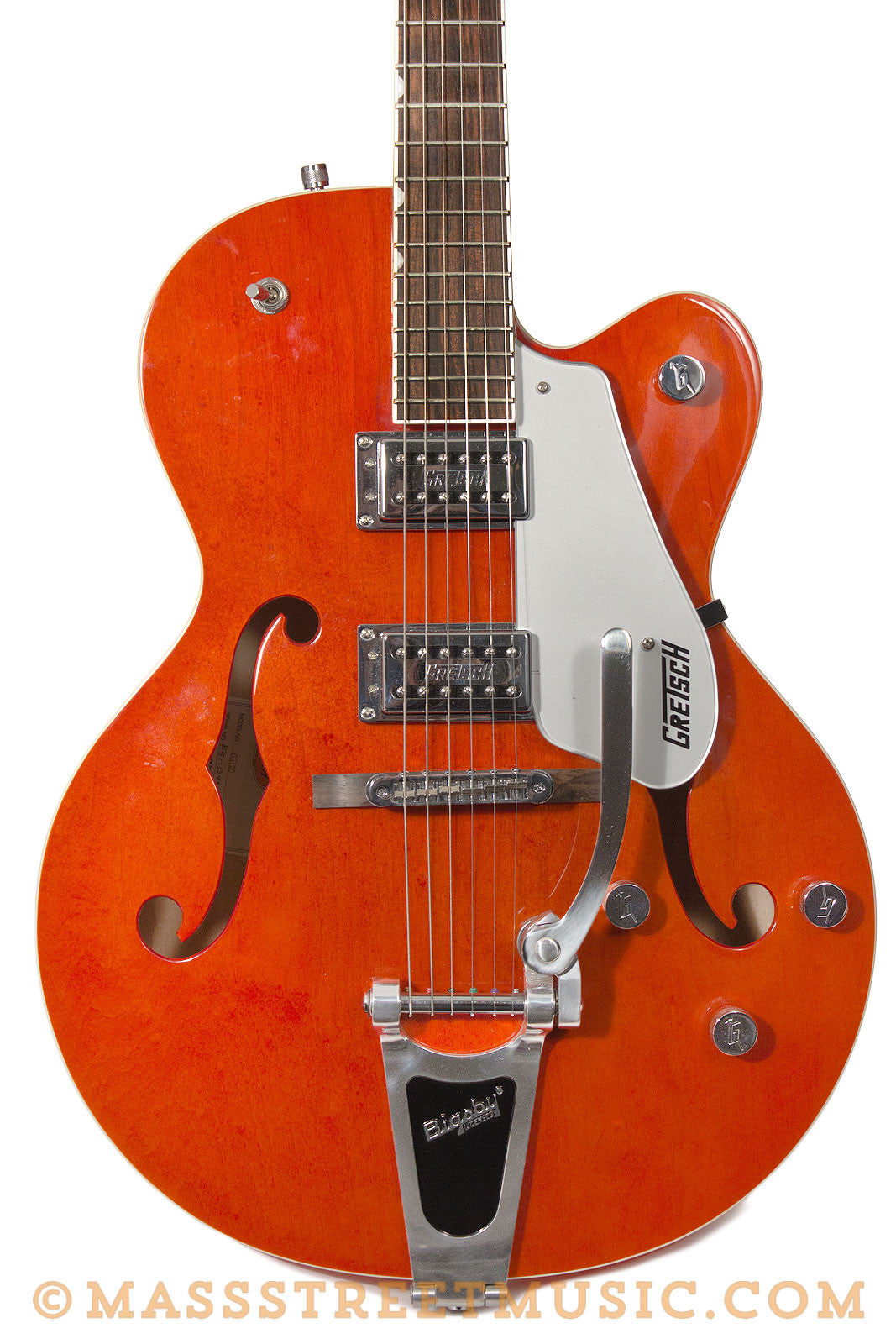 gretsch electromatic g5120 used electric guitar orange near mint mass street music store. Black Bedroom Furniture Sets. Home Design Ideas