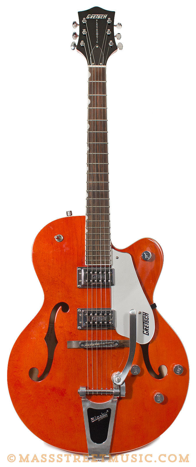 Gretsch G5120 Electromatic Deep Red Great Installation Of Wiring 5120 Diagram Used Electric Guitar Orange Near Mint Rh Massstreetmusic Com