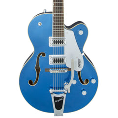 Gretsch Electric Guitars - G5420T Electromatic - Hairline Blue - Front Close