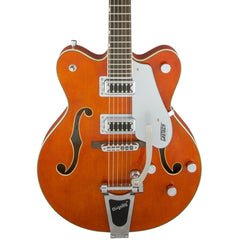 Gretsch Electric Guitars - G5422T Electromatic - Orange Stain - Front Close