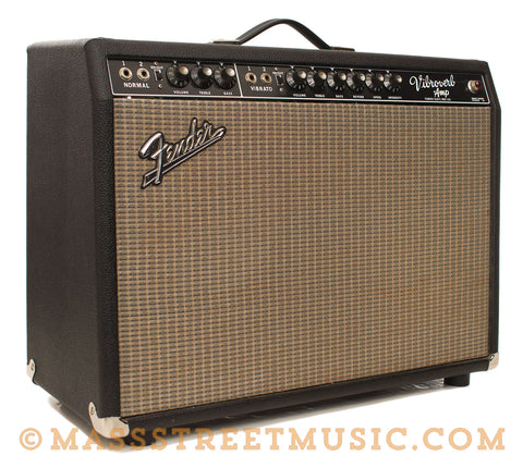 "Fender ""Vibroverb"" Combo Amp - front angle"