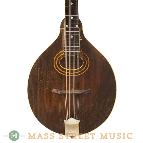 Gibson 1919 A-Style Sheraton Brown Mandolin - front close