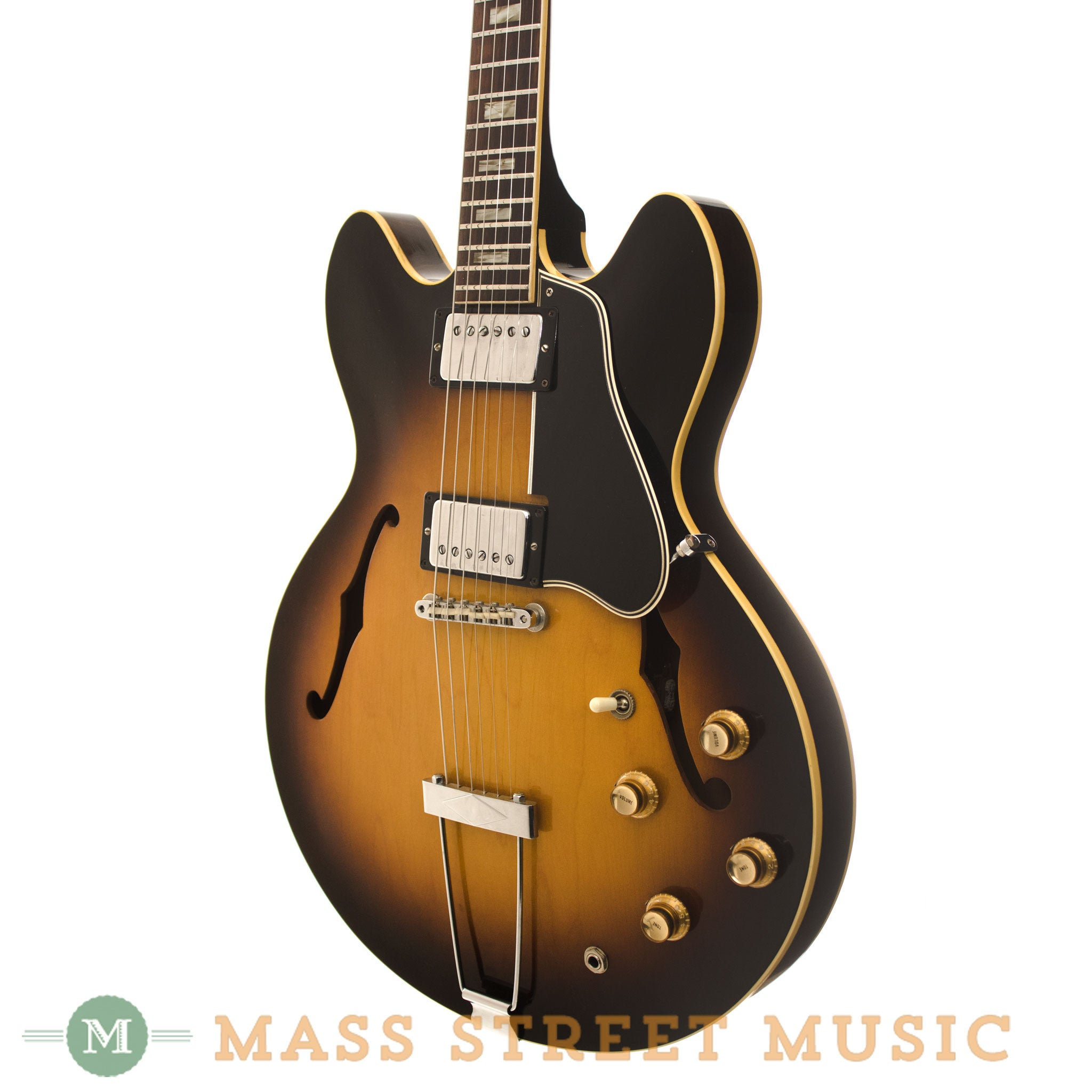 ... Gibson 1966 ES-335 Electric Thinline - angle ...