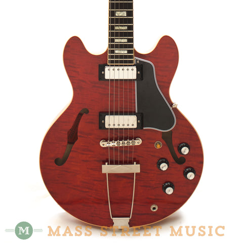 Gibson Memphis ES-390 Hollowbody Electric Guitar Used - front close