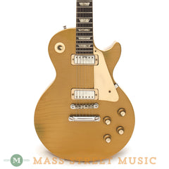Gibson 1971 Les Paul Deluxe Goldtop Electric Guitar - front close