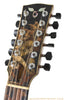 Goodall PECJ 12 Persephone inlay - front headstock