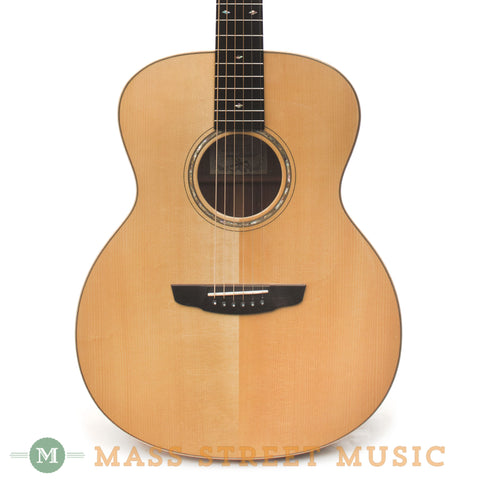 Goodall Concert Jumbo Acoustic Guitar - front close