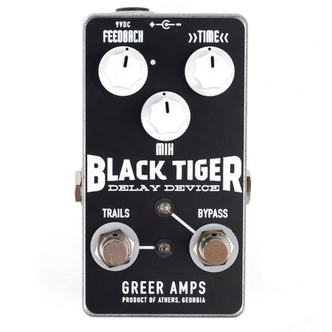Greet Black Tiger Delay Pedal