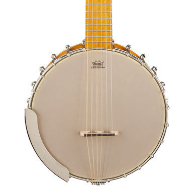 Gretsch G9460 Dixie 6 Guitar-Banjo - front close stock