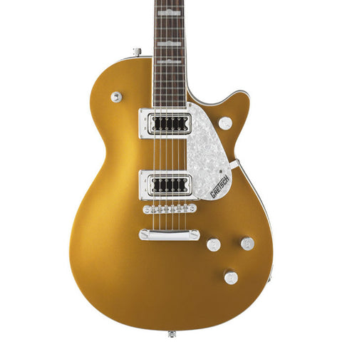 Gretsch G5438 Electromatic Pro Jet - Gold close up