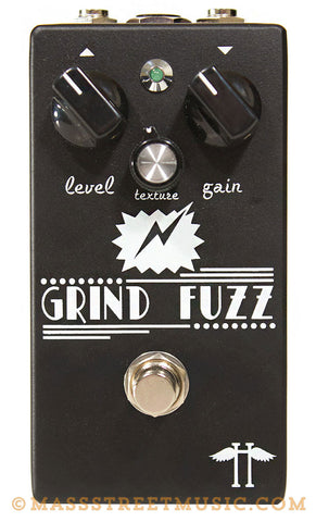 Heavy Electronics Grind Fuzz Pedal - top