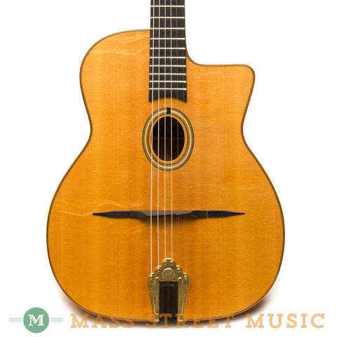 Shelley Park Guitars - 1998 Gypsy Jazz Guitar - Front Close