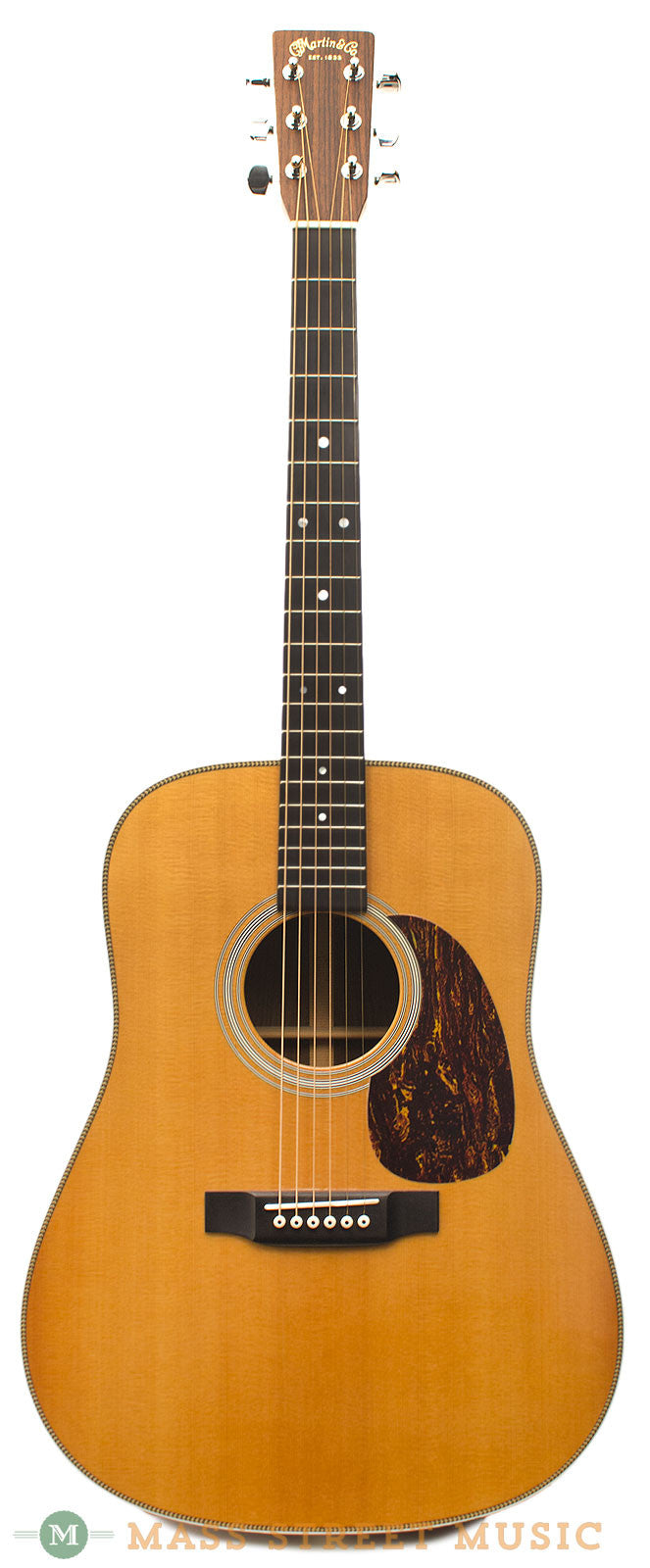 Martin Hd 28 2002 Used Acoustic Guitar With Original Hardshell Case Mass Street Music Store