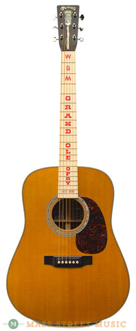 Martin HDO Grand Old Opry 75th Anniv. Used Acoustic Guitar - front