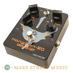 Wren and Cuff HangMan-2D Distortion Pedal - angle