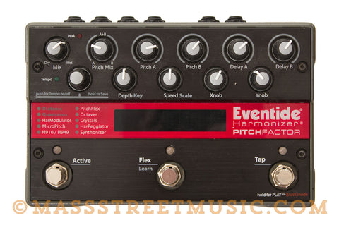 Eventide Pitchfactor Used Pedal - front