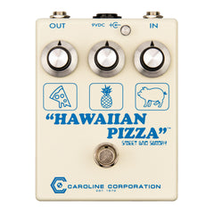 Caroline Guitar Effect Pedals - Hawaiian Pizza Fuzzdrive