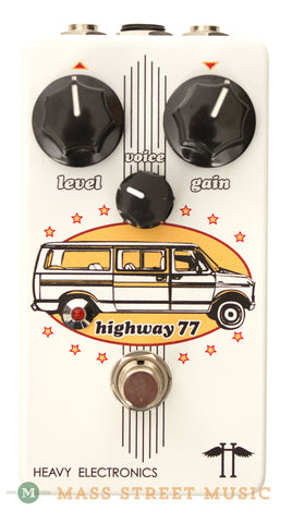 Heavy Electronics Highway 77 Distortion Pedal - front
