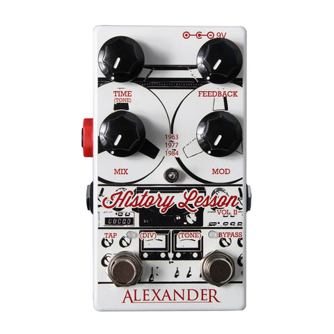 Alexander - History Lesson Tape Delay