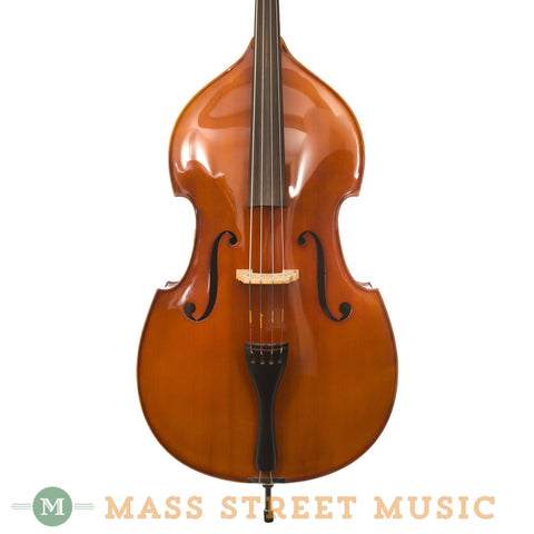 Hofner 3/4-sized Upright Bass - front close