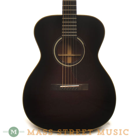 Huss & Dalton 2005 TOM-R Mahogany Acoustic Guitar - front close