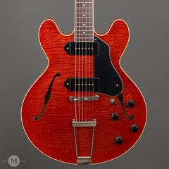Collings Electric Guitars - I-30 LC - Aged Faded Cherry - Front Close
