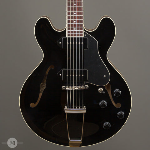 Collings Electric Guitars - I-30 LC - Custom Jet Black Top - Front Close