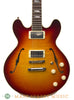 Collings I-35 LC Deluxe Dark Cherry Burst Electric Semi-Hollow Guitar - body