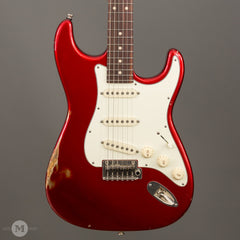 Tom Anderson Electric Guitars - Icon Classic - Candy Apple Red - Distress Level 2