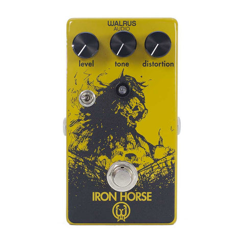 Walrus Audio - Iron Horse Distortion - Front Stock