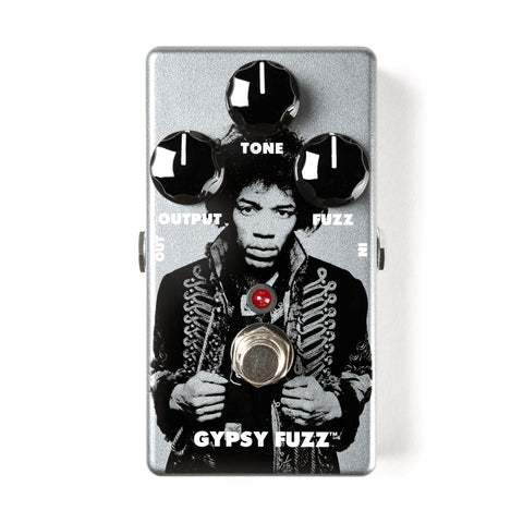 Dunlop Guitar Effect Pedals - Jimi Hendrix JHM8 Gypsy Fuzz - Front