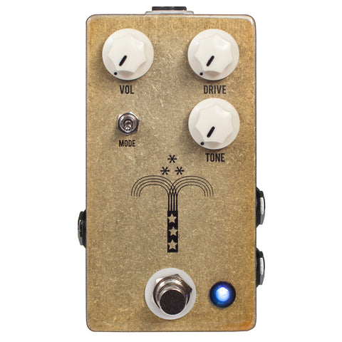 JHS Effect Pedals - Morning Glory Overdrive V4 - Front