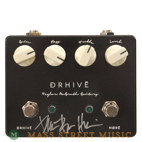 Taylor McGrath DRHIVE Overdrive Signed Pedal Used - front