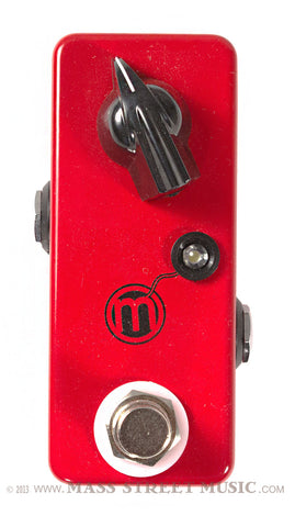 JHS Mini Bomb Boost pedal - top