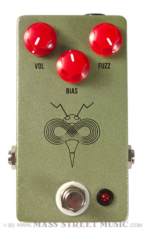 JHS Pollinator Fuzz pedal - front