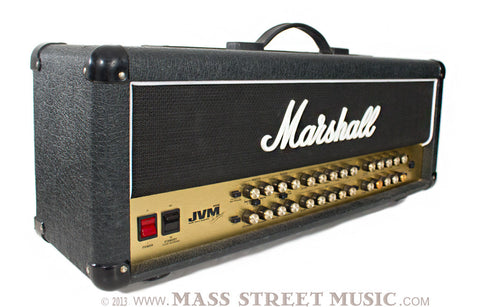 Marshall JVM 410h Amp Head photo - left angle