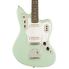 Squier Electric Guitars - Jaguar Vintage Modified -  Surf Green - Front Close