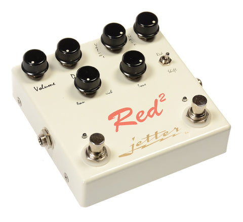 Jetter Red Square Overdrive Pedal
