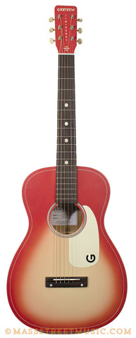 Gretsch Jim Dandy Coral guitar - front full