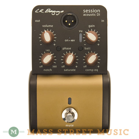 L.R. Baggs Session DI Direct Box - front