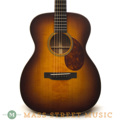 Leo Posch OM-M Acoustic Guitar 2012 Used - front close