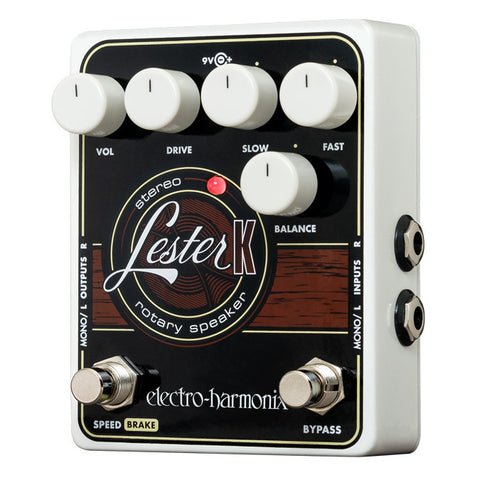 Electro-Harmonix Effect Pedals - Lester K Rotary Speaker