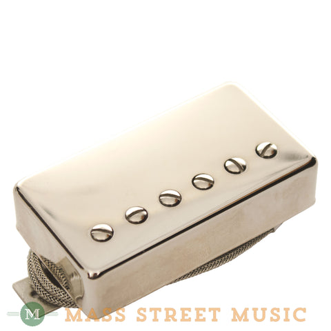 Lindy Fralin Humbucker 9K Braided with Nickel Cover