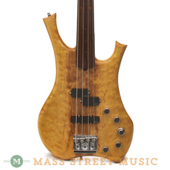 Lower Groove Tyranis Fretless Bass - front close