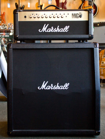Marshall MG100FX Stack Used - front