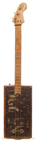 Kelly's MO License Plate Cigar Box Guitar - front