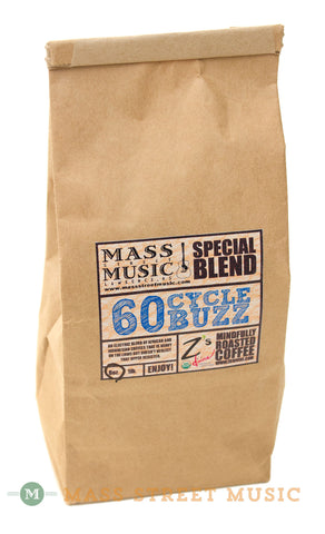 Mass Street Music 60 Cycle Buzz Coffee, 8 oz.